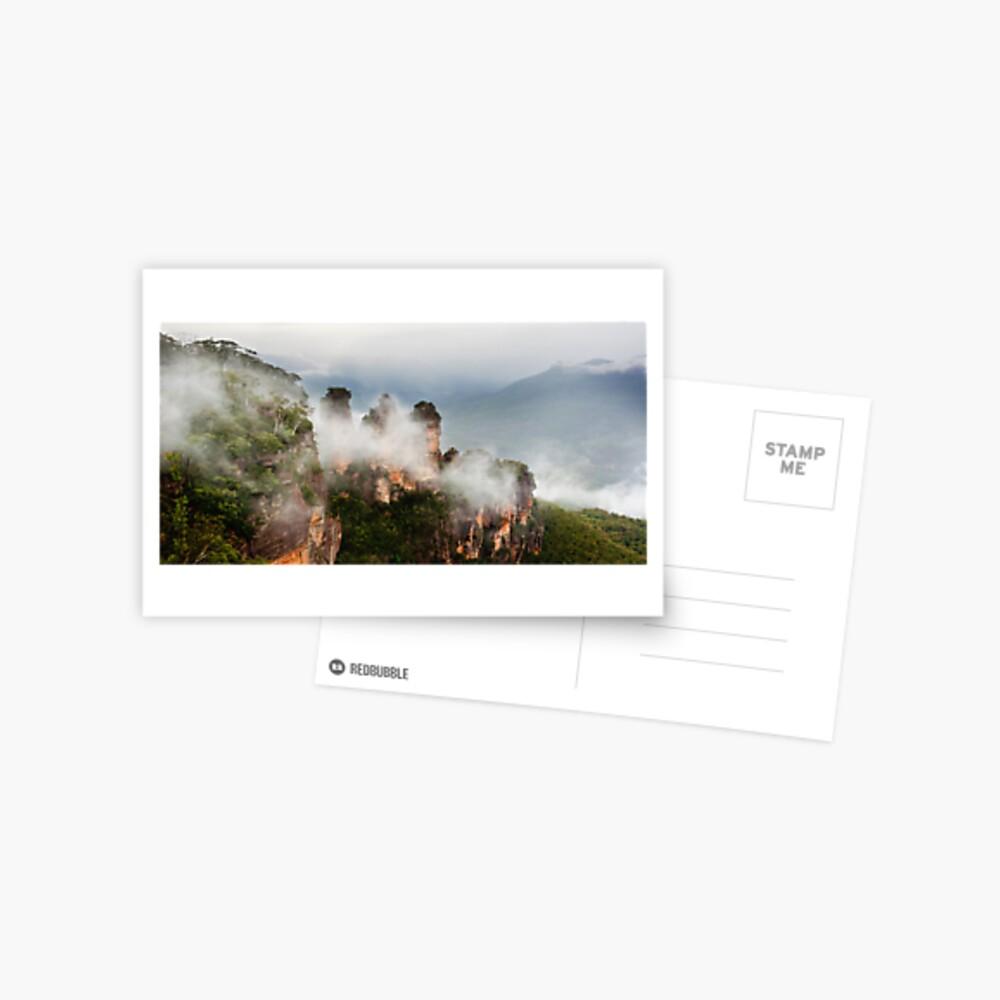 Misty Sisters  Postcard