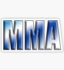 MMA, Mixed, Martial Art, Contest, Combat, Fight, Box, Ju Jitsu, Wrestle, Grapple Sticker