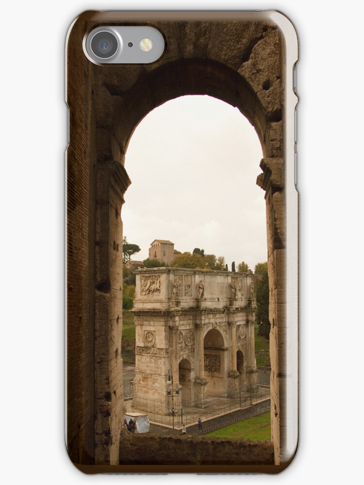 Colosseum Phone Cover by Michelle Lia