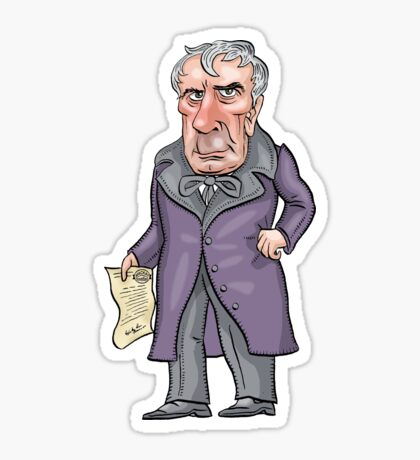 William Henry Harrison Sticker