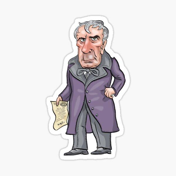 William Henry Harrison Sticker