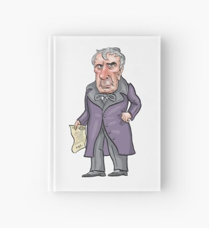 William Henry Harrison Hardcover Journal