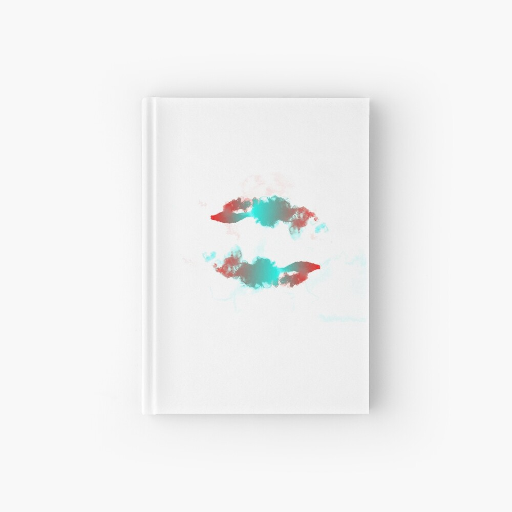 Pisces Betta Fish Watercolor Abstract Hardcover Journal