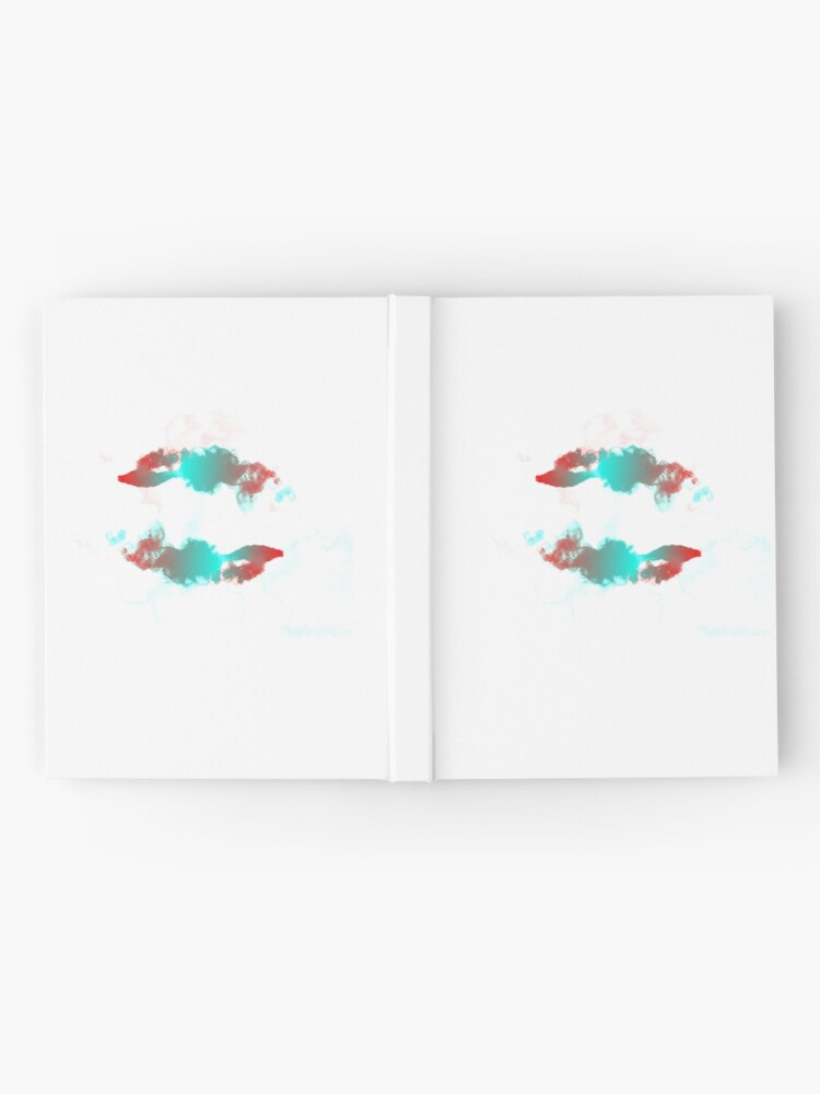 Alternate view of Pisces Betta Fish Watercolor Abstract Hardcover Journal