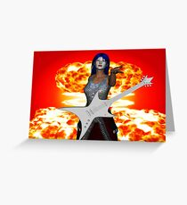 Rock & Roll Greeting Card