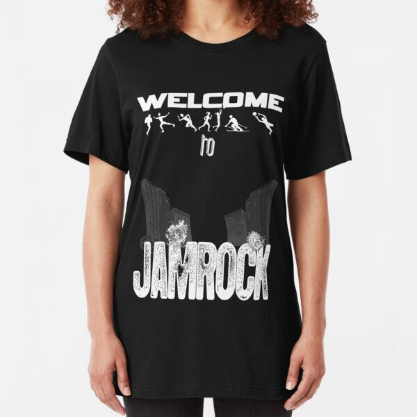 Welcome to JAMROCK 2 Slim Fit T-Shirt