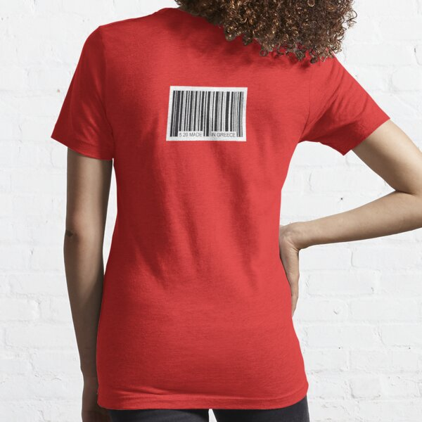 barcode made in greece Essential T-Shirt