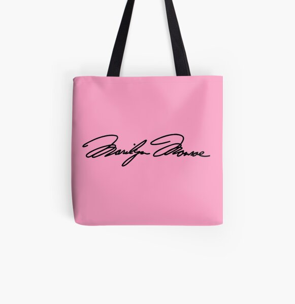 Marilyn Monroe autograph All Over Print Tote Bag