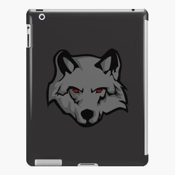 Grey Wolf Minimalism iPad Snap Case