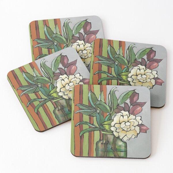 Camelia Coasters (Set of 4)