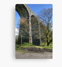 Underneath The Arches  Canvas Print