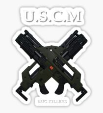 UNITED STATES COLONIAL MARINES Sticker