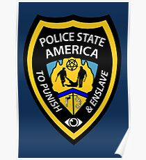 Police State America Poster