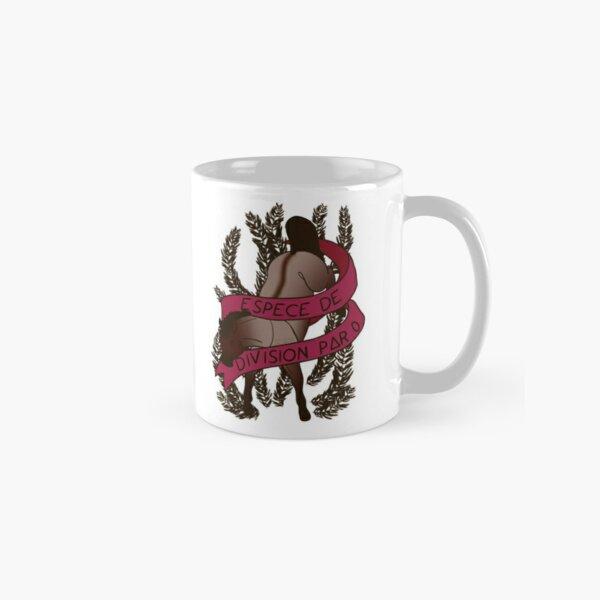 Espèce de division par 0 [Insulter avec poney] Mug classique