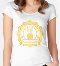 Pineapple Brigade Women's Fitted Scoop T-Shirt