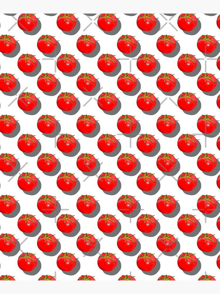 Tomatoes Fruit - Dark Blue background by adarovai