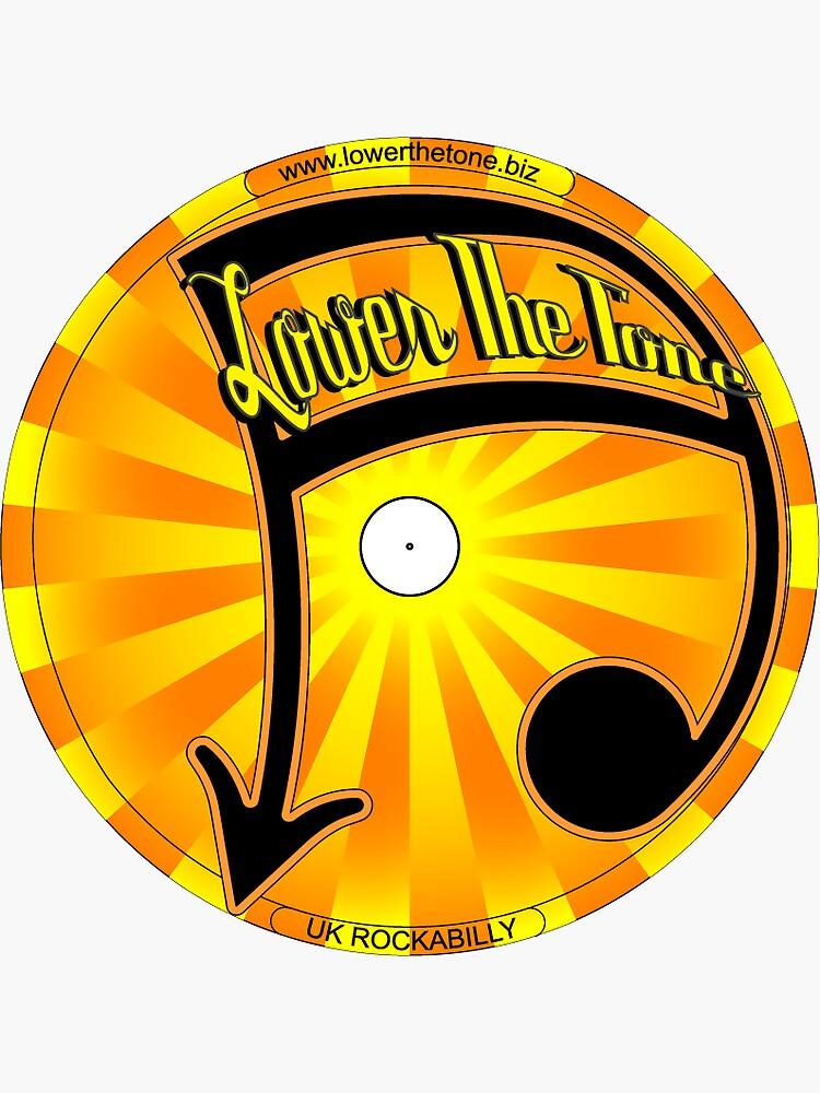 Lower The Tone Sticker by LowerTheTone