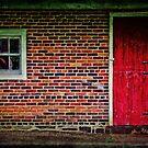 Barn Door at Tinicum by Debra Fedchin