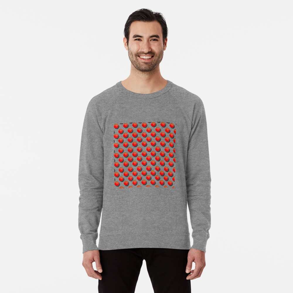 Tomatoes Fruit - Light background Lightweight Sweatshirt