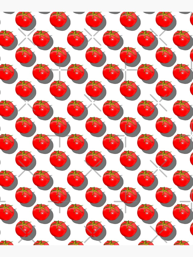 Tomatoes Fruit - Green background by adarovai