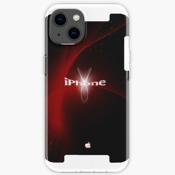 Fashion iphone design red iPhone Soft Case