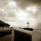Light on lighthouse by mark thompson