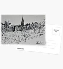 Edinburgh skyline Postcards