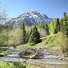 Sneffels in Springtime by Eric Glaser