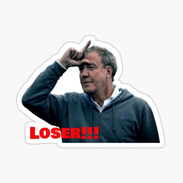 "jeremy clarkson ""loser"" Sticker"