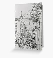 Easter Road Greeting Card