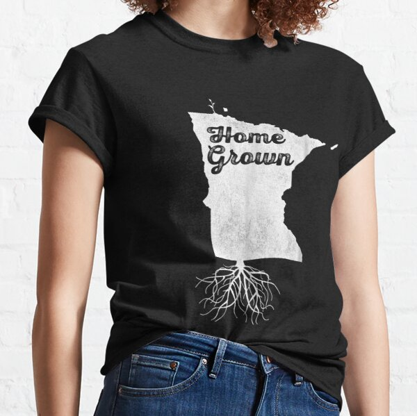 Home Minnesota Roots MN Distressed State Pride   Classic T-Shirt