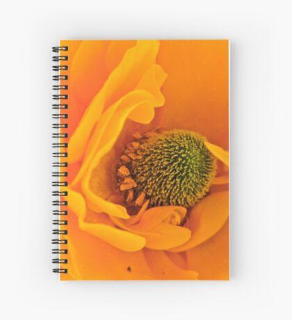 Unfolding Furls Spiral Notebook