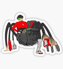 Spider Spok Sticker