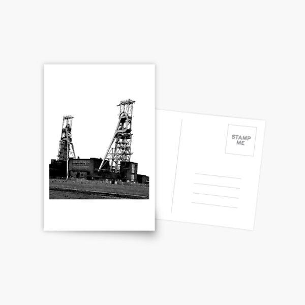 Clipstone Colliery, Clipstone, Nottinghamshire Postcard