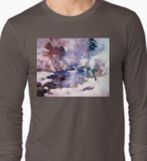 Snow in the forest Long Sleeve T-Shirt