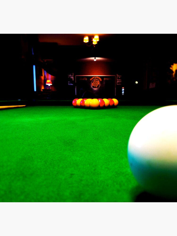 Playing pool by robsteadman
