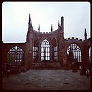 Coventry Old Cathedral by Robert Steadman