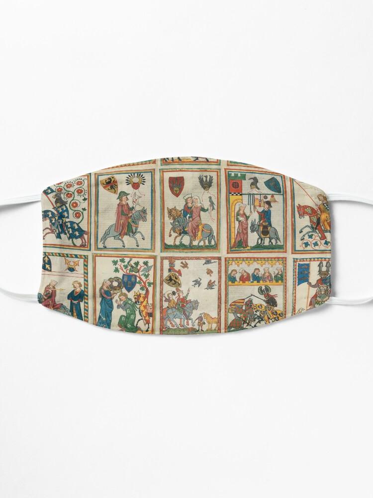 Alternate view of Codex Manesse Mask