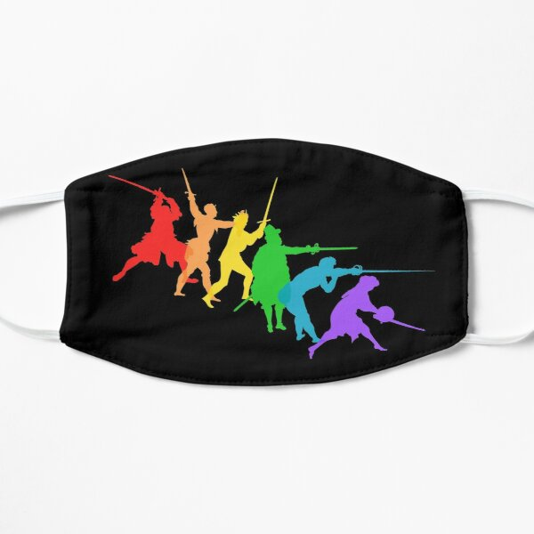 A Spectrum of Swordy Silhouettes Mask