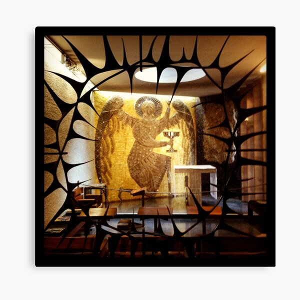 Side Chapel, Coventry Cathedral Canvas Print