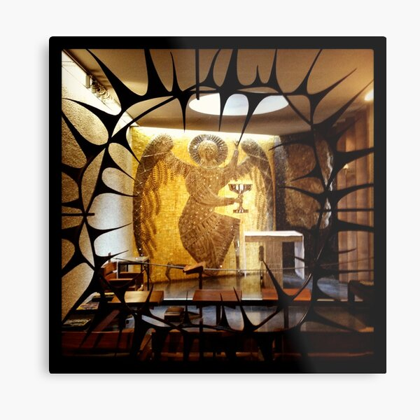 Side Chapel, Coventry Cathedral Metal Print