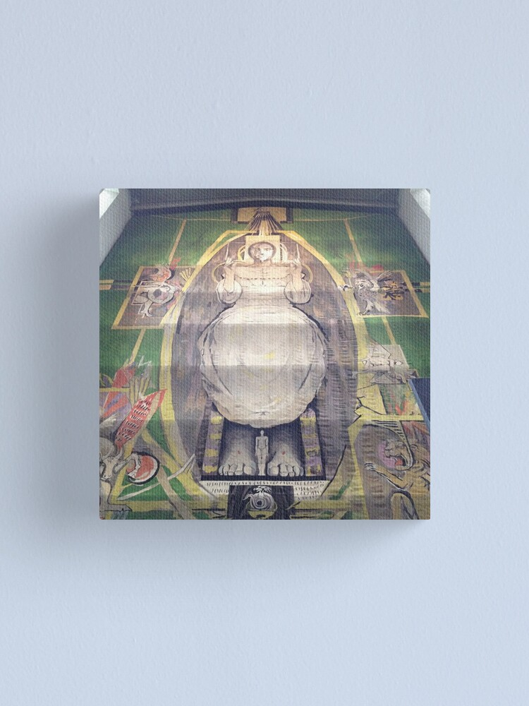 Alternate view of Sutherland tapestry, Coventry Cathedral Canvas Print