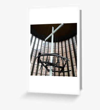 Crown of nails, Coventry Cathedral Greeting Card