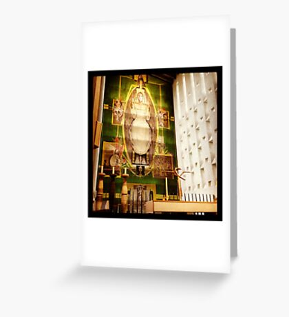 Coventry Cathedral spire Greeting Card