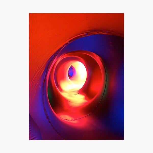 Inside the Luminarium 6 Photographic Print