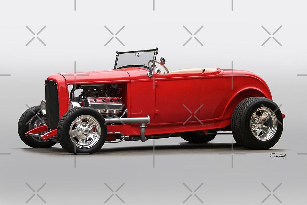 1932 Ford Roadster 'Hemi-Rod' II by DaveKoontz