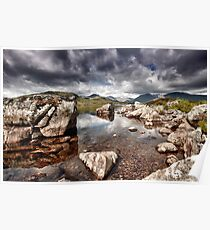 Rannoch Moor  Scotland Poster