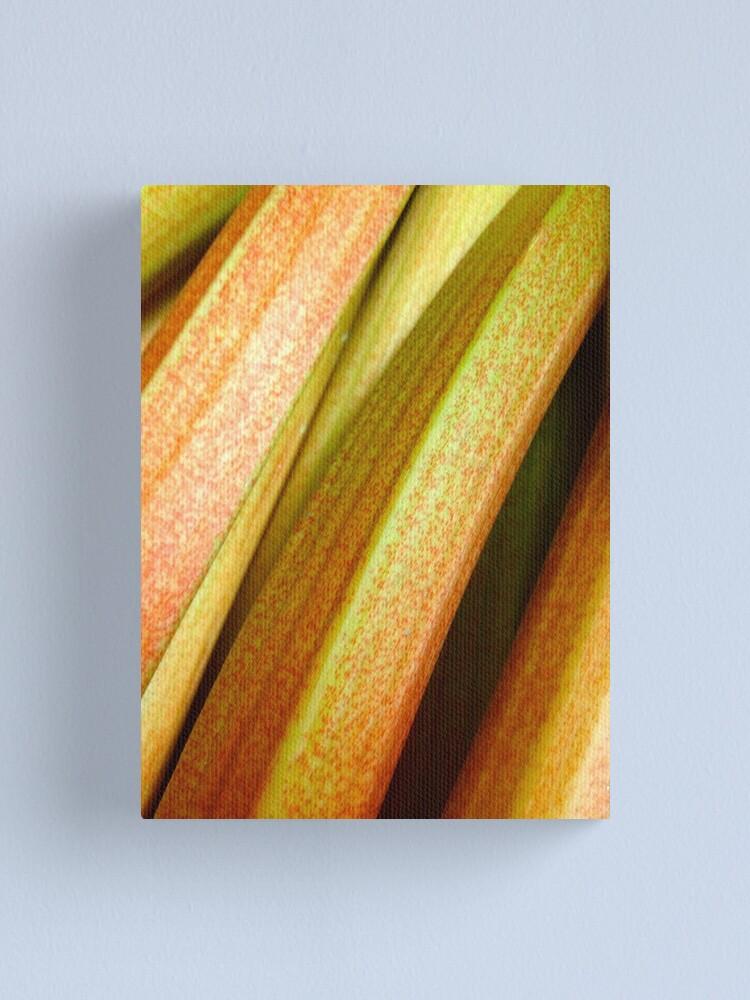 Alternate view of Rhubarb Canvas Print