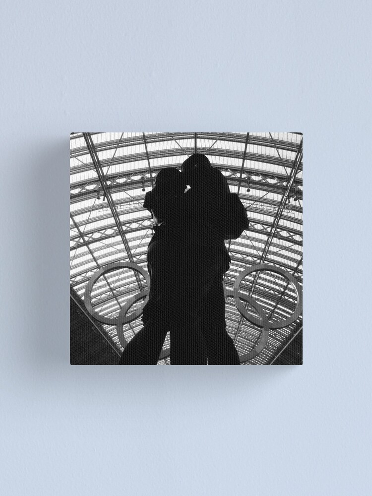 Alternate view of Meeting Place Canvas Print