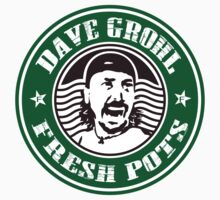 DAVE GROHL FRESH POTS COFFEE T-SHIRT